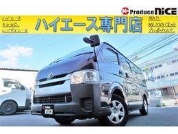 トヨタ ハイエースバン 2.0 DX ロング 37202km 純正SDナビ バックカメラ ETC TV