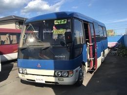 三菱ふそう ローザ 29人乗りバス ・自動ドア・バックカメラ・ディーゼル車