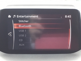 Bluetooth・TV・DVD・USB×2・AUX