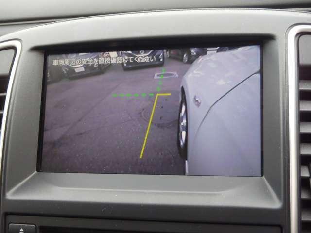 左フロントサイドがモニターに映ります 幅寄せに便利です