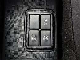 エコモード・EVモードとモード切り替えで燃費向上快適ドライブイング♪ご質問・ご要望等が御座いましたら、気軽に担当スタッフまでご連絡をください♪