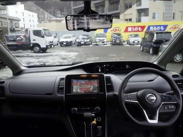 全方位で視界が広い。気持ちがよくて、運転もしやすい。