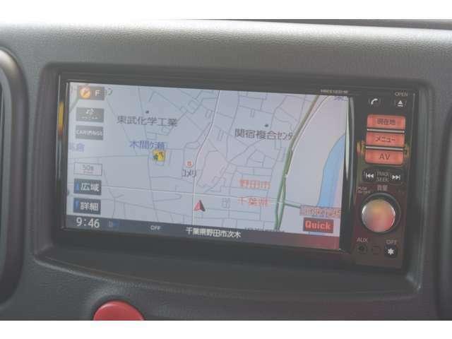 純正HDDナビ搭載!タッチパネル式で操作簡単!検索は住所・電話番号などで楽々検索!