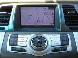 日産純正HDDナビゲーション。目的地までしっかり案内してくれる事はもちろんですが今や車内を楽しく過ごすためのアイテムとしても欠かせなくなっています。