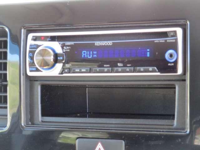 ■社外オーディオ■CD/ラジオ/AUXなどの機能がございます♪必要であればナビの取り付けも承っておりますので、お気軽にご相談ください!
