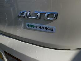 減速時の回生エネルギーを利用して発電&充電、ガソリンの消費を抑えて低燃費を実現する『エネチャージ』搭載です!