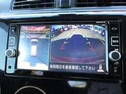 アラウンドビューモニター装備☆上から見たような画面で車庫入れも縦列駐車も安心です♪