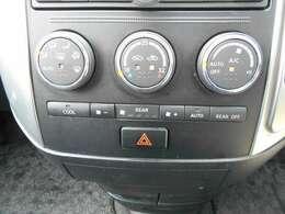 移動時の車内も快適に オートエアコンです
