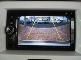 バックでの駐車をサポートしてくれるバックカメラ付です。