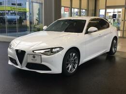 アルファ ロメオ ジュリア 2.2 ターボ ディーゼル スーパー 試乗車 新車保証継承