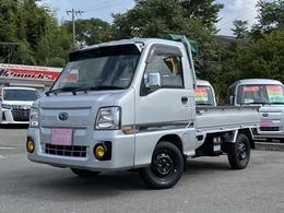スバル サンバートラック 660 TC スーパーチャージャー 三方開 4WD スバル生産最終型 AT車 簡易クレーン付