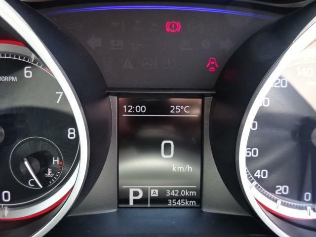 液晶画面には瞬間燃費、平均燃費、後続可能距離表示機能がありエコドライブをサポートし、しかも走行距離も少なくておススメです☆