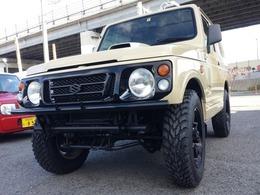 スズキ ジムニー 660 ワイルドウインド 4WD マッドタイヤ 社外バンパー