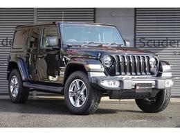 ジープ ラングラー アンリミテッド サハラ 3.6L 4WD ワンオーナー 禁煙車 黒革シート