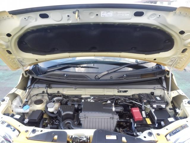 R06D型エンジン。マイルドブリットで加速時はモーターでエンジンアシスト。