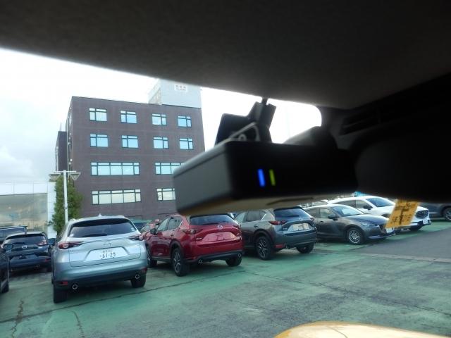 安心安全なドライブレコーダー付です。