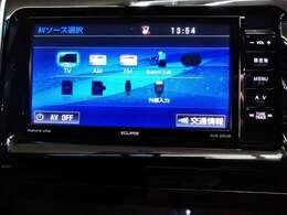 フルセグTV、Bluetoothオーディオも付いてます!