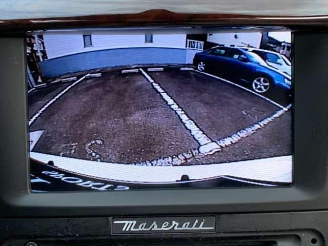 バックカメラで安心駐車!!