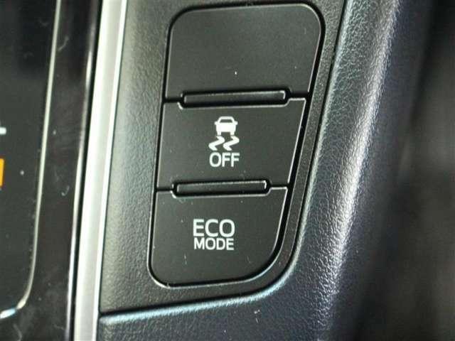 TRC OFFスイッチ 燃費重視の『ECOモード』スイッチ