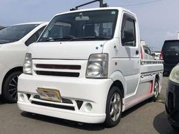 マツダ スクラムトラック 660 KC スペシャル 3方開 4WD フルエアロ アルミホイール テールレンズ