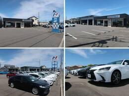 大きなNマークの看板が目印!広々とした駐車場をご用意してお待ちしております。展示場には豊富な在庫をご用意。メーカー問わず比較していただけます。