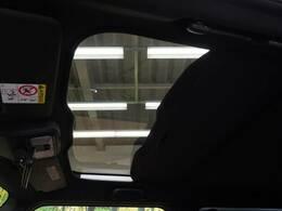 【スカイフィールトップ】屋根の一部がガラスになっています。時間運転で疲れちゃってもこの開放感♪