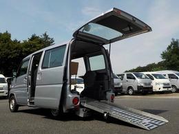 日産 NV100クリッパー 660 チェアキャブ スロープタイプ DX ニールダウン 手動固定式 走行1.7万km