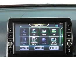 【日産メモリーナビ装着車】 DVD再生 SD再生・音楽録音 フルセグ ブルートゥース対応モデルです。☆日産販売店装着オプション部品の取付承っております。スタッフまでお気軽にご相談ください。