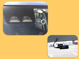 SA3(スマアシ3)装着車!追突事故などへの予防安全のための装備で、被害軽減をサポートしてくれます!誤発進抑制、歩行者検知にも対応!前後カメラのドラレコ付!