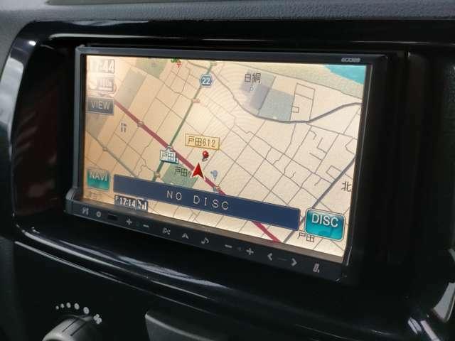 地デジチューナー付きです!ワンセグですがしっかり観れますよ!初めての道でも安心してドライブできます。