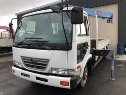 UDトラックス コンドル 3段タダノクレーンラジコン・フックイン 積載3t