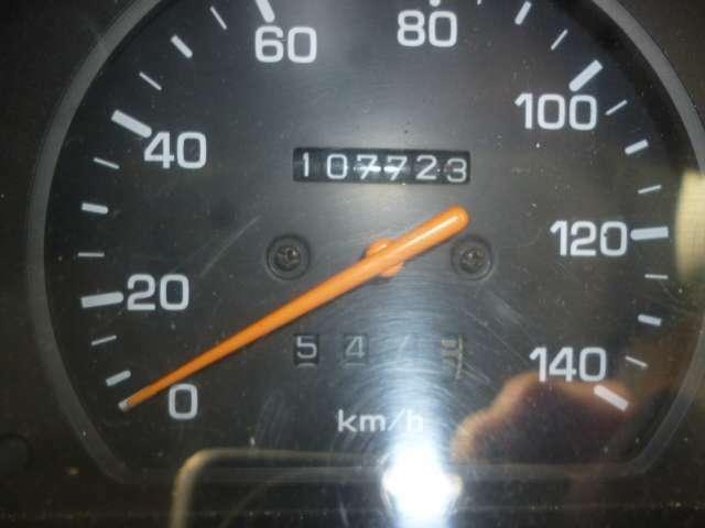 走行は107.000KMです