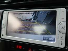 【SDナビ】便利な【バックモニター】も装備されております。駐車が苦手な方でも安心して安全確認ができるオススメ機能です。