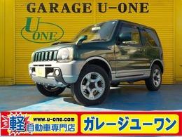 スズキ ジムニー 660 ランドベンチャー 4WD ハーフレザー キーレス CD ABS アルミ