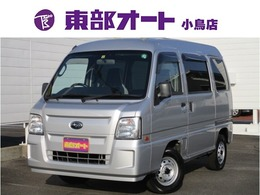 スバル サンバー 660 トランスポーター 4WD 純正CDオーディオ ETC キーレス