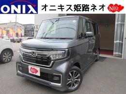 ホンダ N-BOX カスタム 660 L 新車 ナビTVバックカメラETCマットバイザー