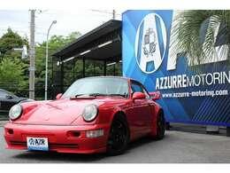 1991y ポルシェ 911 カレラ リビルトエンジン交換済 RS仕様 レカロシート 社外マフラー 社外ハンドル 17インチホイール 車高調 入庫しました。