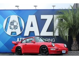 ポルシェ 911 カレラ2 RS仕様 レカロシート リビルトエンジン 車高調 社外ホイール