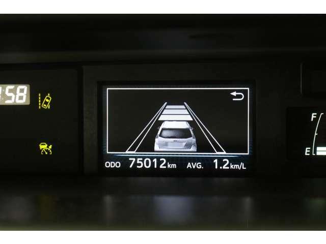 レーダークルーズコントロールの車間距離設定もできますよ。