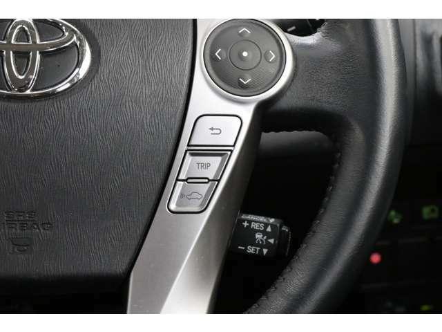 メーカーオプションのプリクラッシュセーフティシステムが装備されているのでレーダークルーズコントロール付きです。自動で車間距離を保ってくれる安全&快適なクルーズコントロールです。