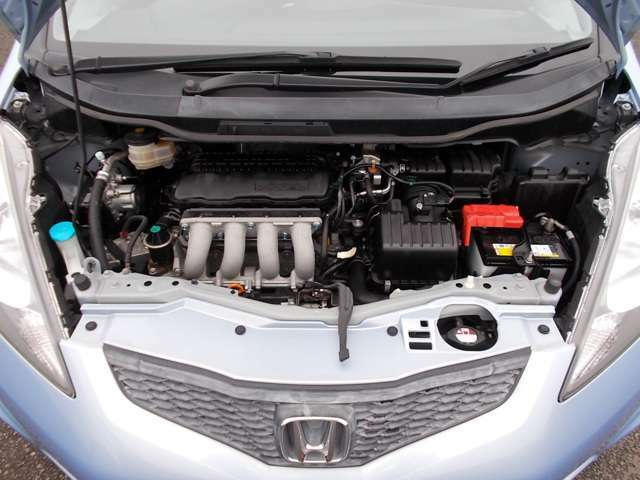 自慢のエンジンはパワードbyHONDAです!精度とバランスにこだわって、低回転からスムースなパワーを発揮します☆