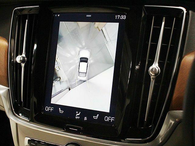 更に360°ビュー表示も可能です 車を上から見下ろしたように車外を確認できます