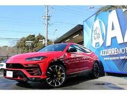2019y ランボルギーニ ウルス ディーラー車 パノラマルーフ ヘッドアップディスプレイ 3Dオーディオシステム アンビコントライトPKG Q-tituraWithレザーインテリア 入庫しました!