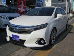 トヨタ SAI 2.4 S Cパッケージ サンルーフ エアロ ナビ 2年保証