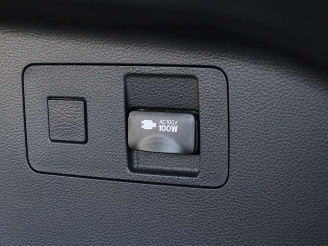 【 MOP アクセサリーコンセント 】アウトドアや災害時にも役立つAC100V電源をトランク内に搭載!