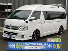 トヨタ ハイエースバン キャンピングカー ナッツRV リーク 燃料式FFヒータ- ローダウン