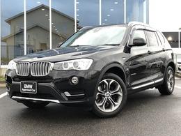 BMW X3 xドライブ20d  xライン ディーゼルターボ 4WD 黒革木目Pドラレコ18AW1オーナー認定中古車