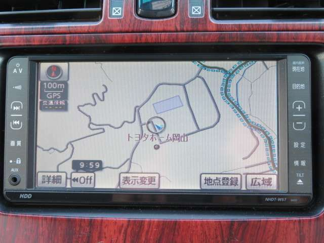 ナビゲーション付きなので、初めての道もラクラク!目的地設定も簡単!NHDT-W57