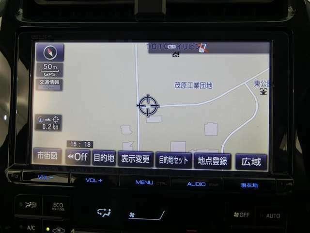 【9インチ純正メモリーナビ(DS2T-YC4T)】・・・今やドライブの大事なパートナー!ルート案内はもちろん、CD再生等々、ドライブが、いっそう楽しくなる機能が満載です♪