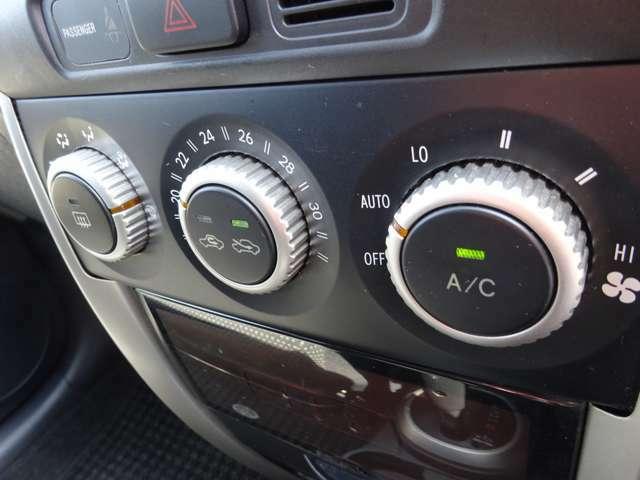 オートエアコン 適切な温度や風量を自動でコントロールしてくれて快適です